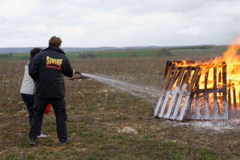 Formation lutte contre l'incendie Sivihe